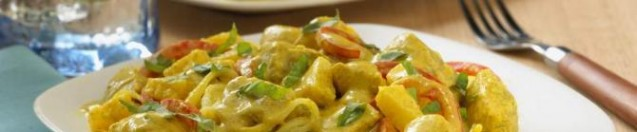 Coconut Curry Chicken and Vegetables