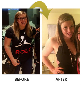 Allie in Seattle really transformed her body!