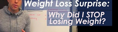 Weight Loss Surprise: Why Did I STOP Losing Weight?