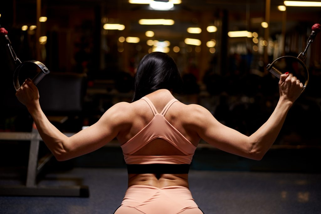 developing strong shoulders